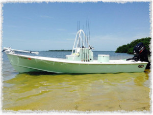 Our 21' Sabalo Bay Boat
